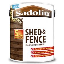 Sadolin Shed Fence All Weather Barrier Sadolin