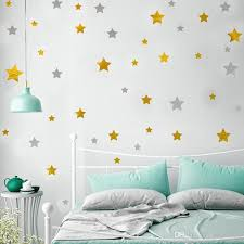 Gold Stars Wall Decal Stars Pattern Diy Wall Stickers For Kids Rooms Home Decor Removable Wall Art Decals Removable Wall Art Stickers From Qiansuning88 3 19 Dhgate Com