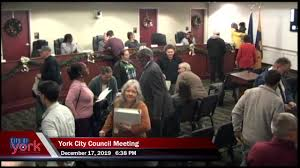 City of York - York City Council Meeting 12/17/2019