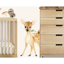 Picture Perfect Decals Woodland Nursery Decor Wall Stickers Woodland Animals Baby Room Boys