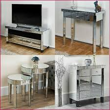 mirrored furniture tv stand display