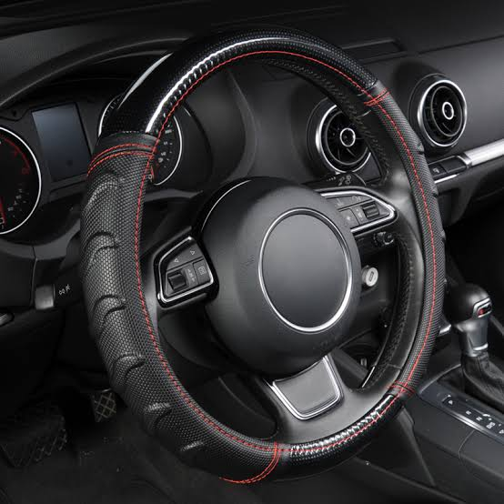 Soccer Pattern Car Steering Wheel Cover