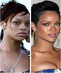 rihanna without makeup top 10 pictures