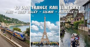 10 day france itinerary under s 1 5k
