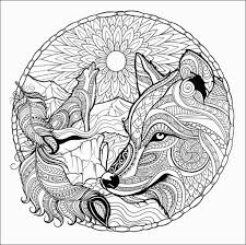Wolf Coloring Pages For Adults In 2020 Kleurplaten Dieren