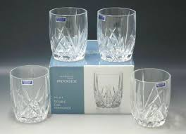set of 4 waterford marquis brookside
