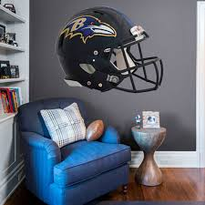 Baltimore Ravens Fathead Giant Removable Helmet Wall Decal