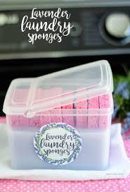 lavender laundry sponges smart