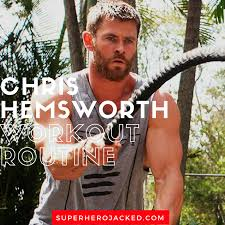 chris hemsworth workout routine and