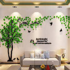Diy 3d Large Couple Tree Wall Decals Wall Stickers Vinyl Wall Decor Arts Diy Wall Decal Home Decor Art Decorations Living Room Bedroom Tv Background Tree Stickers 3 9ftx3 3ft Walmart Com Walmart Com