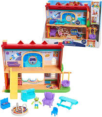 Amazon Com Muppets Babies School House Playset Toys Games