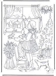 De Kerstster Kleurplaten Kerst