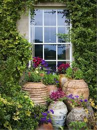 cretan pots at highgrove with images