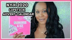 nyx advent calendar 2020 diamonds