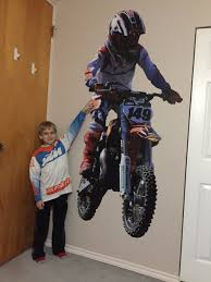 Kris Jackson On Twitter Thank You Fathead The Custom Wall Decal Of Luke149 Looks Awesome In His Room Mxkid Ktm