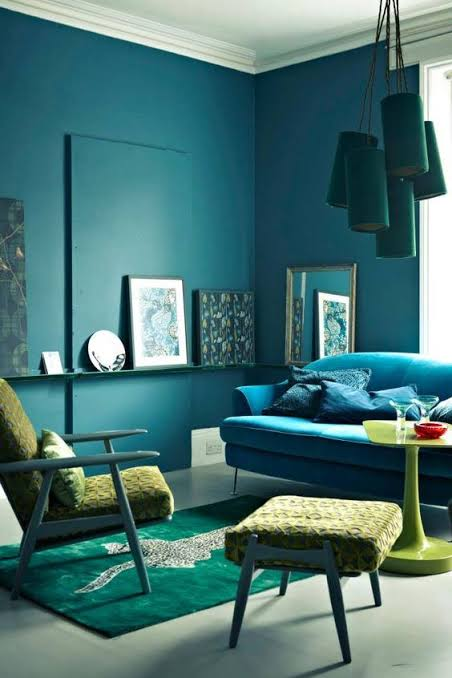 paint colours that are on-trend