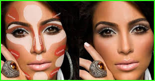 how to contour your face pictorial
