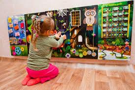 Waiting Room Toys Activity Panel Sensory Wall Montessori Etsy