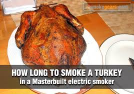 turkey in a masterbuilt electric smoker