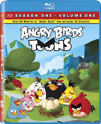 Amazon.com: Angry Birds Toons - Season 01, Volume 01 [Blu-ray ...