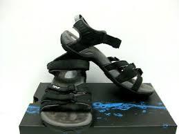 teva tirra leather women sandals black
