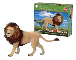 Smithsonian E-Z Build Puzzle - Lion ...