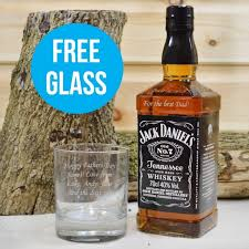 personalised jack daniels with free