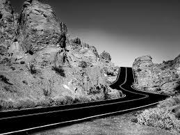 jalan hitam putih life in grey quotes on