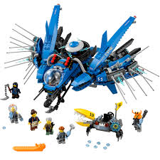 LEGO Ninjago Movie Lightning Jet 70614 (876 Pieces) - Walmart.com - Walmart .com