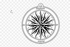 Compass Rose Clip Art Stickalz Llc Nautical Compass Vinyl Wall Art Decal Free Transparent Png Clipart Images Download