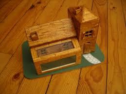 art maquette allumettes maquette maison