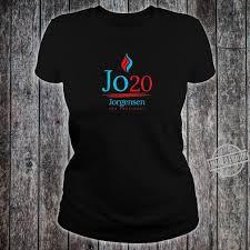 Flame Logo Jo Jorgensen for President Shirt