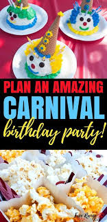 diy carnival birthday party carnival