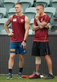 Dayne Beams, Claye Beams - Dayne Beams and Claye Beams Photos - Brisbane  Lions Training Session - Zimbio