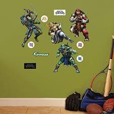Fathead Teenage Mutant Ninja Turtles Movie Collection Junior Wall Decals On Star Wars