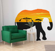 African Wall Stickers Tenstickers