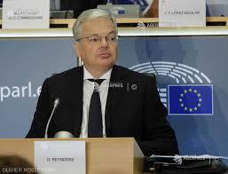Didier Reynders, comisar european pentru Justiţie (fişă biografică ...