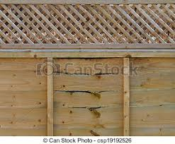 fence panel decorative wooden fence