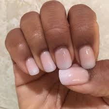 Gel Nail French Ombre Papillon Day Spa