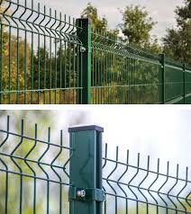 Weld Mesh Fencing Installation In Kent Four Seasons Fencing