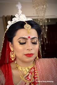 bengali bridal makeup by parul garg