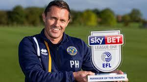 Manager of the Month: Paul Hurst - Shrewsbury Town - News - EFL ...