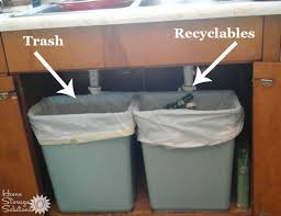 recycling bin and conners