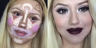 clown contouring is the next makeup