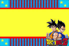 Dragon Ball Z Free Printable Invitations Oh My Fiesta In
