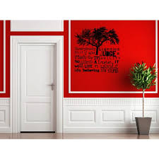 Shop Tree Everybody Is A Genius Wall Art Sticker Decal Overstock 11545211