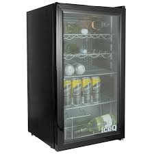 iceq 93 litre under counter glass door