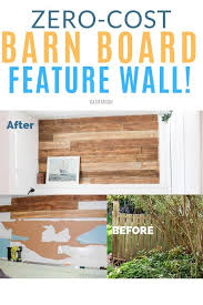 How To Make A Diy Wood Wall From An Old Fence As Well As Other Ideas For Using Reclaimed Wood Fence Boards And Interior Diy Wooden Wall Diy Wood Wall Wood