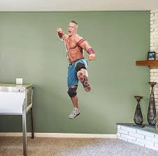 Amazon Com Fathead John Cena Cenation Life Size Officially Licensed Wwe Removable Wall Decal Multicolor Home Kitchen