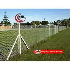 Cement Concrete Fencing Poles Rs 30 Feet Khan Cement Article Id 14103335912
